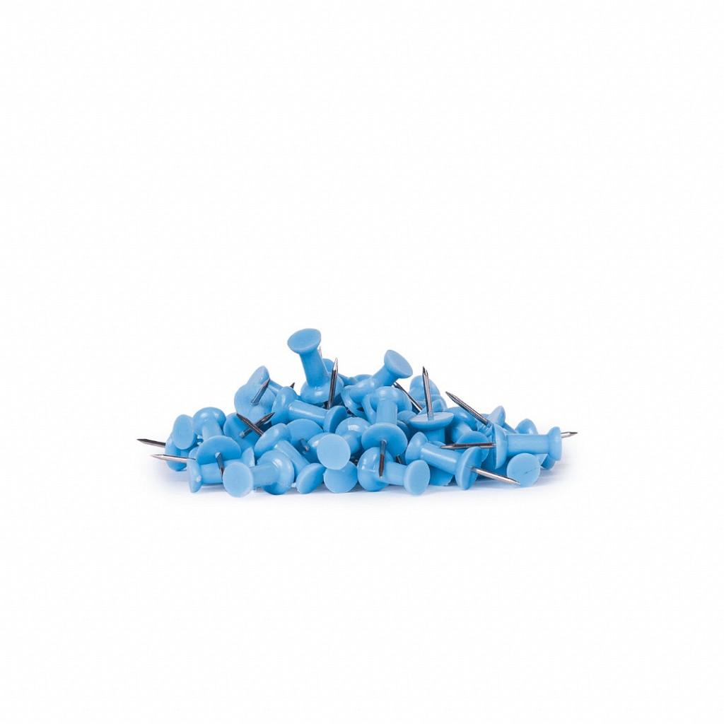 Alfinete Taça Azul Pastel 50 pcs - Ziper Bag