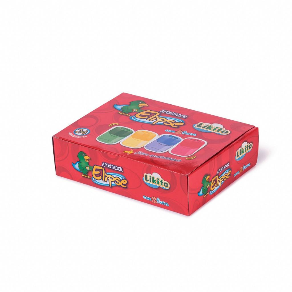 Apontador Plástico Elipse caixa