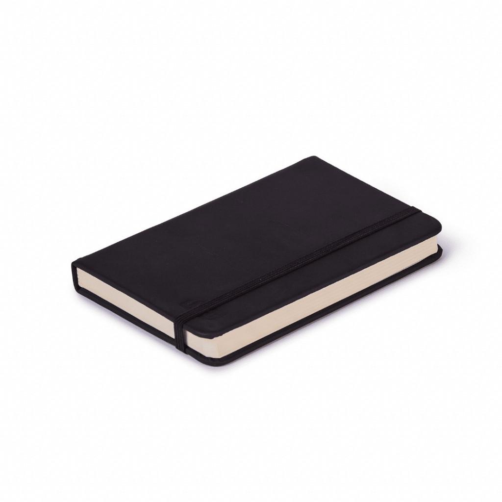 Bloco de anotações preto