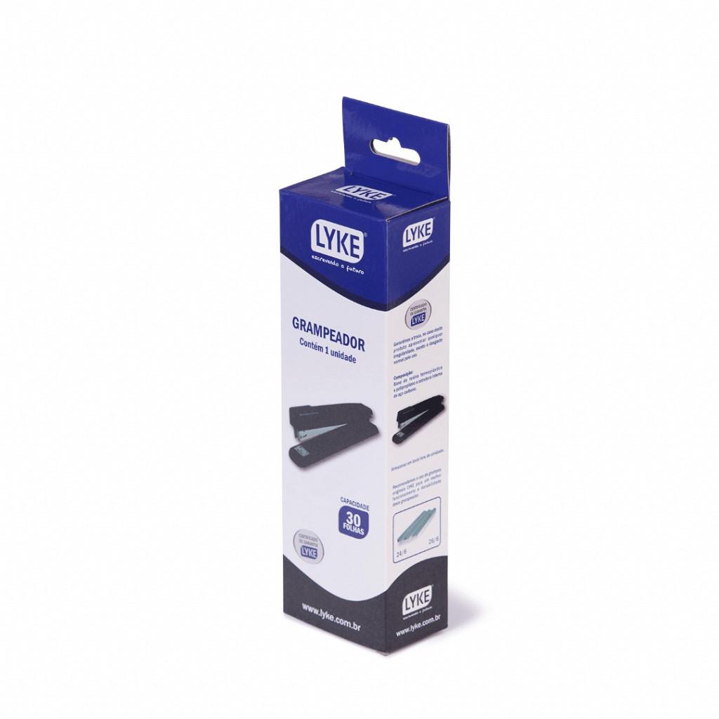 Grampeador Metal base 20cm - p/ até  30 fls.