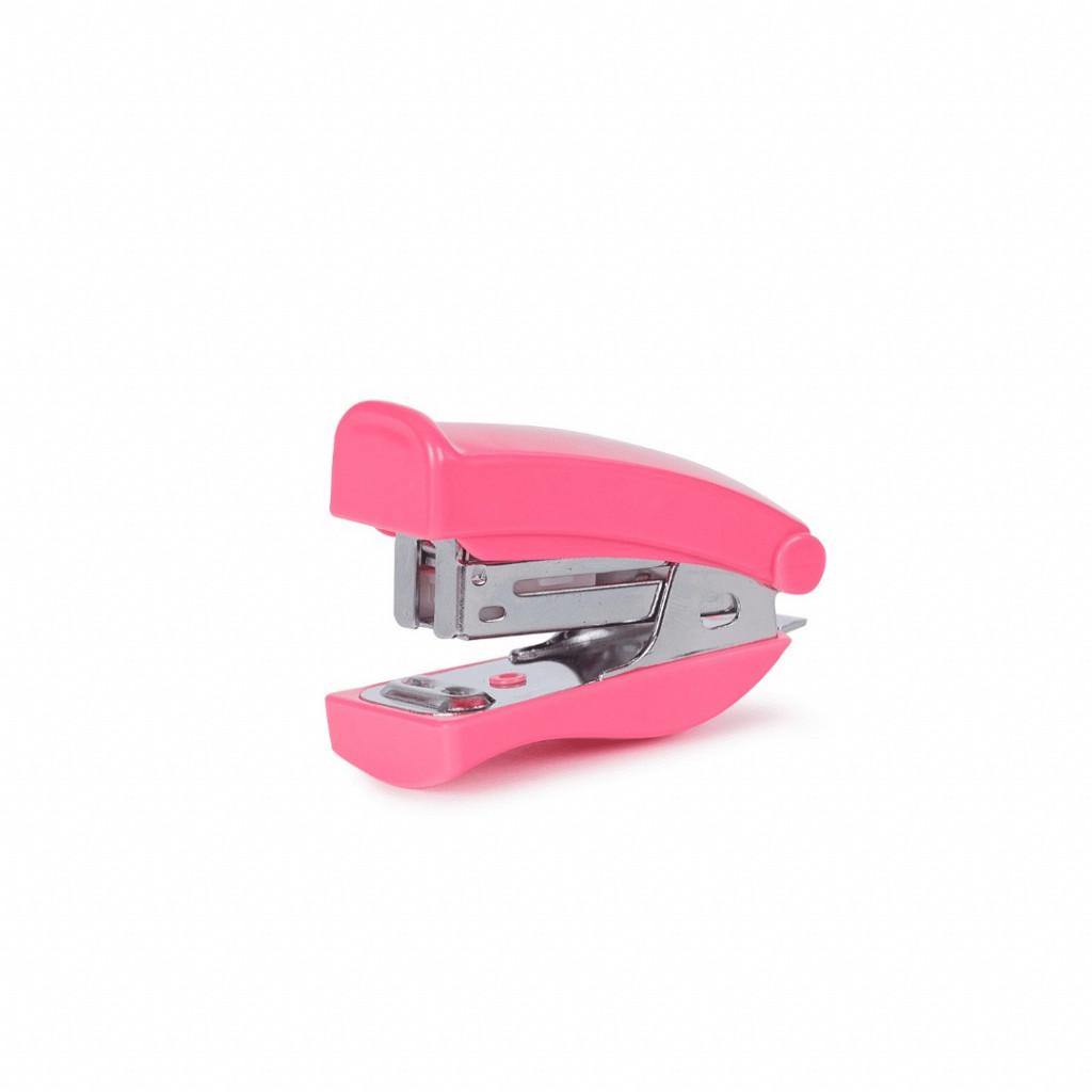 Grampeador Mini - Colorido p/ até 18 fls.