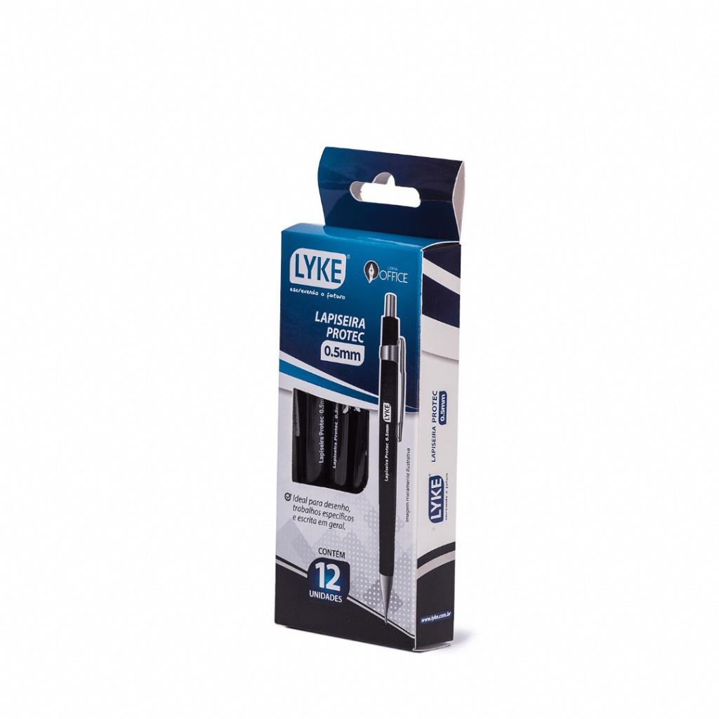 Lapiseira Protec - 0.5mm - Preta - Cx/12