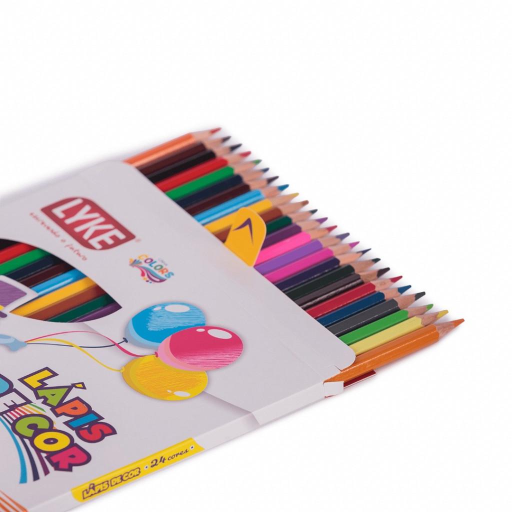 Lápis 24 cores - Madeira (FSC)