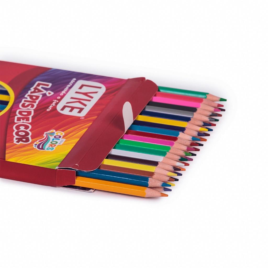 Lápis 36 cores - Resina Plastica