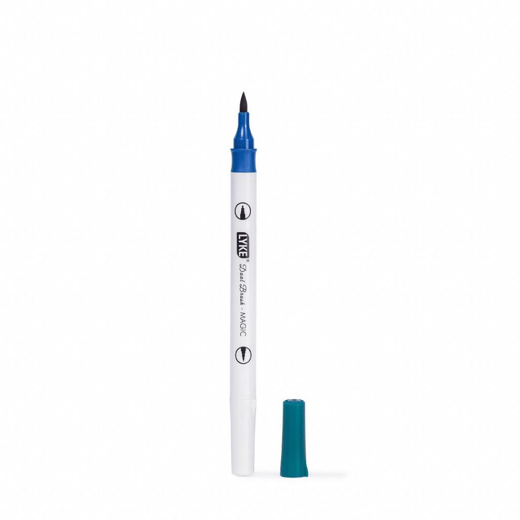 Marcador Dual Brush MÁGICO (Brush+Marker) - 6 peças/12cores