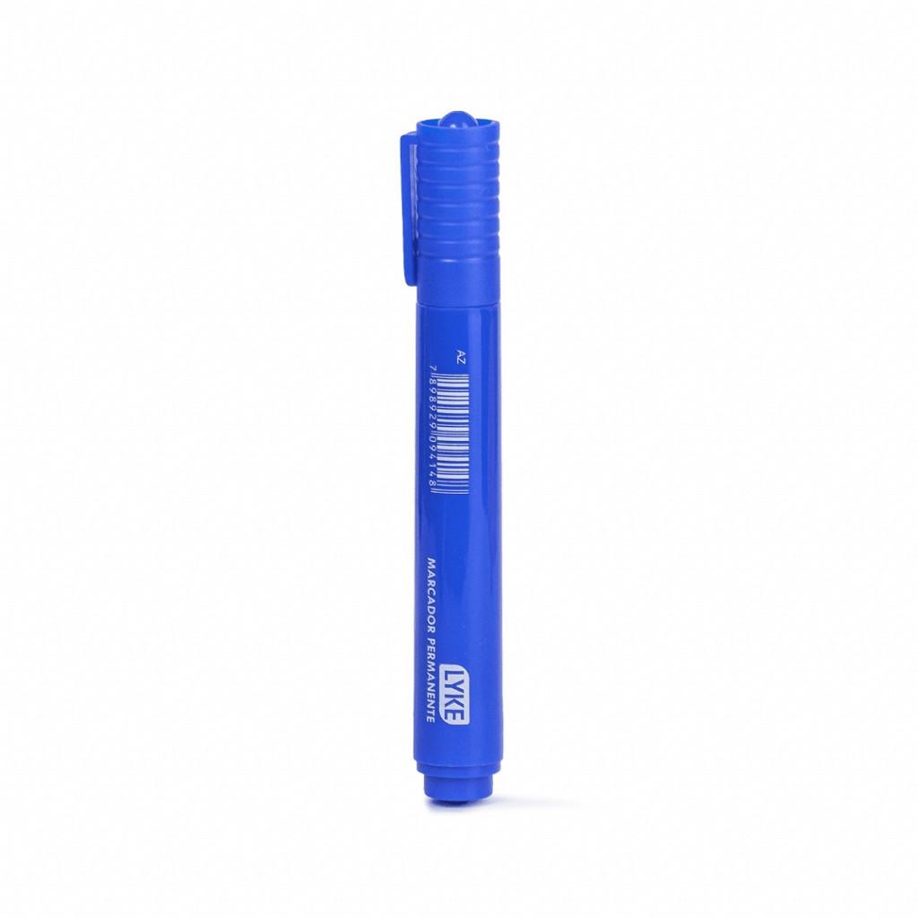 Marcador  Permanente Azul - cx c/ 12 unds