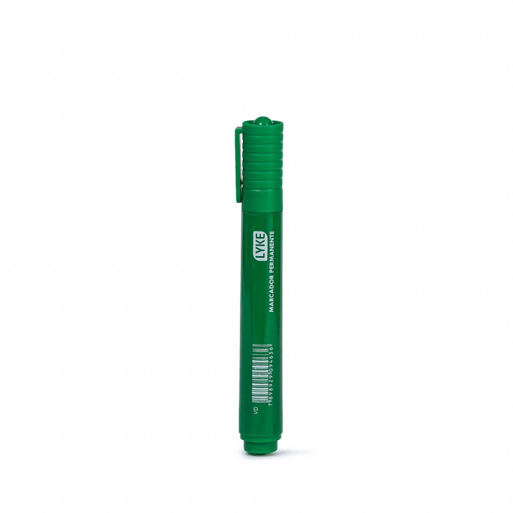 Marcador  Permanente Verde - cx c/ 12 unds