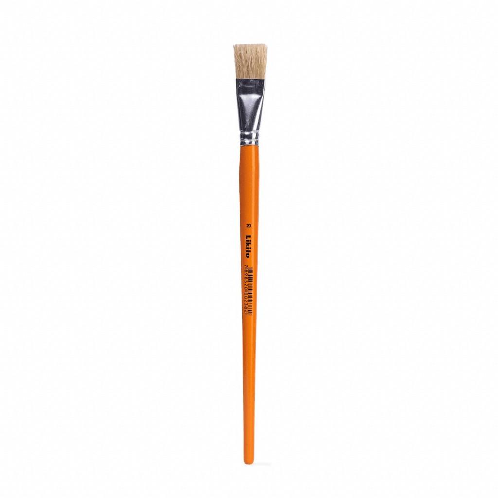 Pincel Pintura N°20 - blister com  06 unds