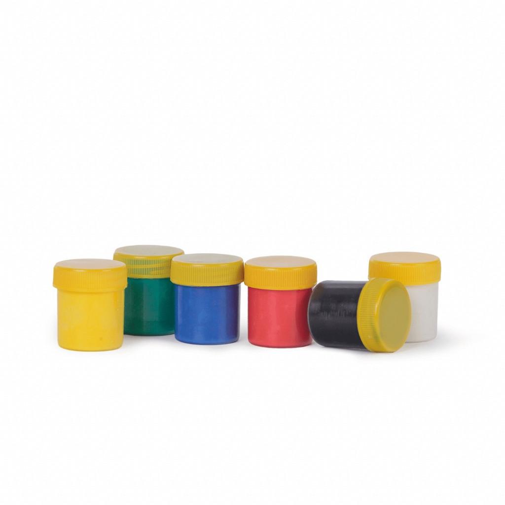 Tinta Guache 15ml cx c/ 6 cores
