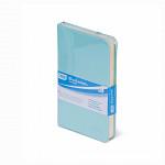 Bloco de anotações azul pastel
