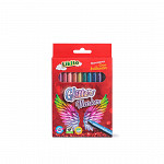 Canetinha Hidrográfica 12 cores - Glitter