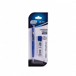 Lapiseira Protec 0.7mm Azul + Grafite  - Blister
