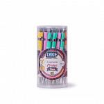 Lapiseira Protec Neon 0.7mm - Tubo c/36