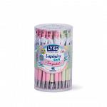 Lapiseira SOFT 2.0 c/ grip embor. Pastel - tubo c/ 48 unds
