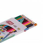 Lápis 12 cores Aquarelável - Madeira (FSC)