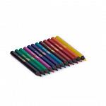 Lápis 12 cores Curto - Resina Reciclada