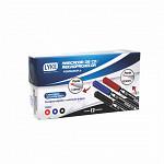 Marcador CD 2 pontas 0.5mm/1.0mm - Azul - cx c/ 12 unds