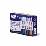 Marcador p/ Qd. Branco Recarregável VM - cx c/ 12 unds